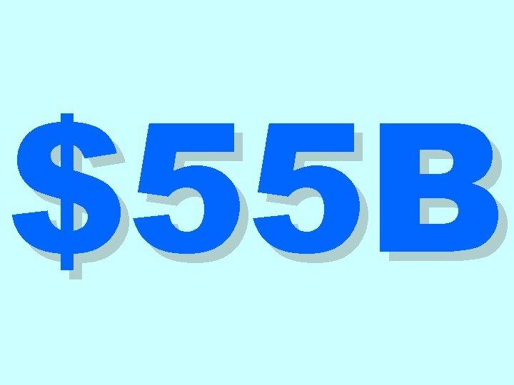 $55 B