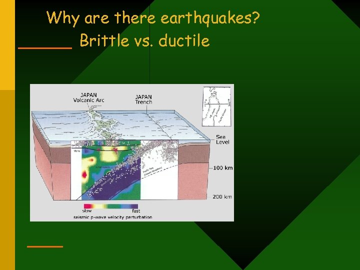 Why are there earthquakes? Brittle vs. ductile