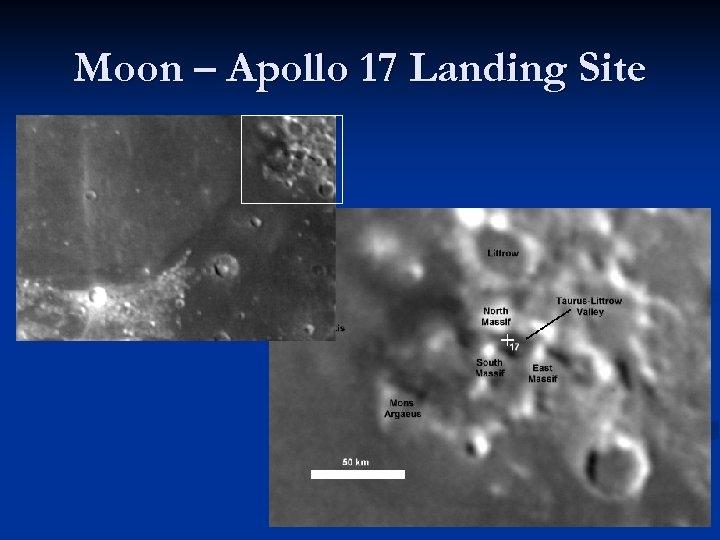 Moon – Apollo 17 Landing Site