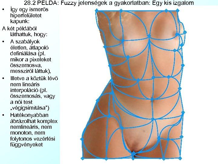 • 28. 2 PÉLDA: Fuzzy jelenségek a gyakorlatban: Egy kis izgalom Így egy