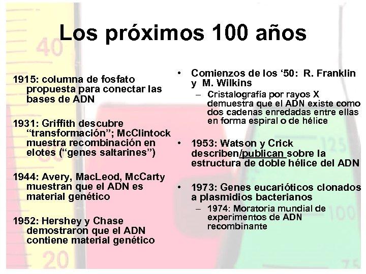 Los próximos 100 años 1915: columna de fosfato propuesta para conectar las bases de