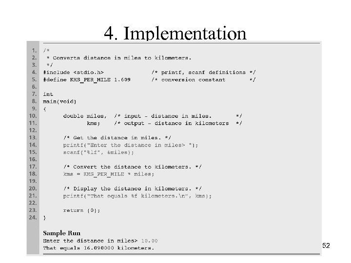 4. Implementation 52