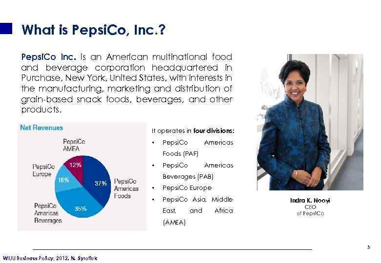 pepsico inc cost of capital This case is about pepsico inc: cost of capital get your pepsico inc: cost of capital case solution at thecasesolutionsco.