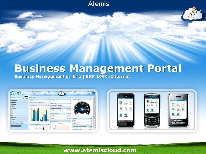 Business Management Portal Business Management on line   ERP 100% Internet www. atemiscloud. com