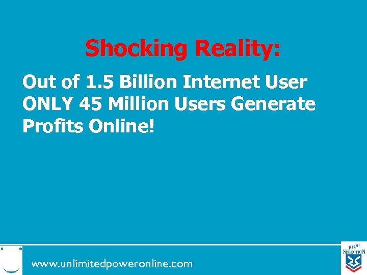 Shocking Reality: Out of 1. 5 Billion Internet User ONLY 45 Million Users Generate