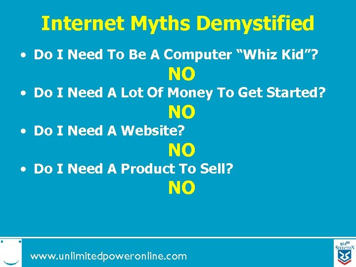 """Internet Myths Demystified • Do I Need To Be A Computer """"Whiz Kid""""? NO"""