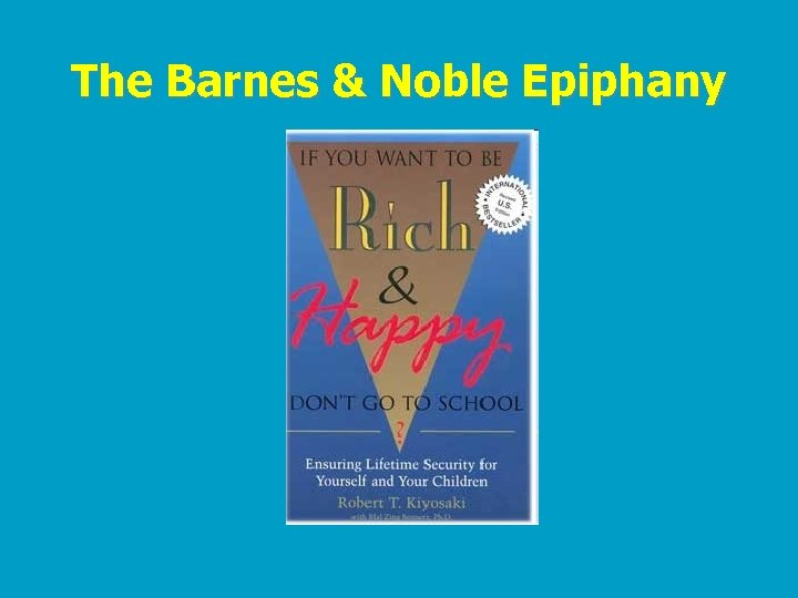 The Barnes & Noble Epiphany