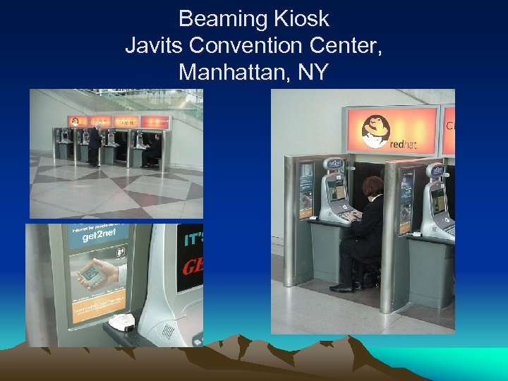 Beaming Kiosk Javits Convention Center, Manhattan, NY