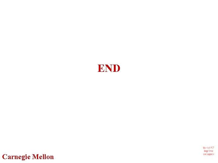 END Carnegie Mellon