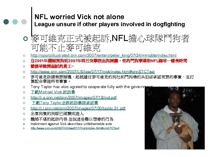 NFL worried Vick not alone League unsure if other players involved in dogfighting ¢