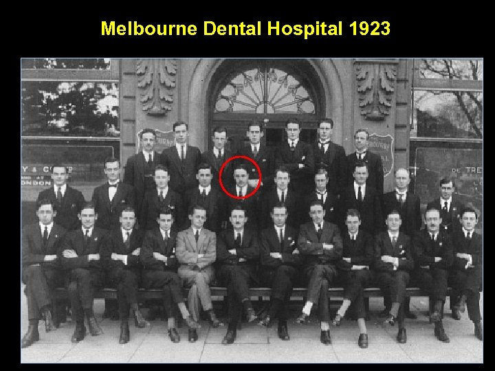 Melbourne Dental Hospital 1923