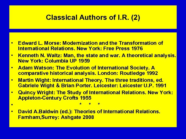 Classical Authors of I. R. (2) • Edward L. Morse: Modernization and the Transformation
