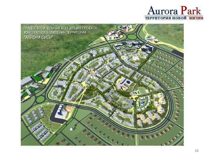Aurora Park ТЕРРИТОРИЯ НОВОЙ ЖИЗНИ 18