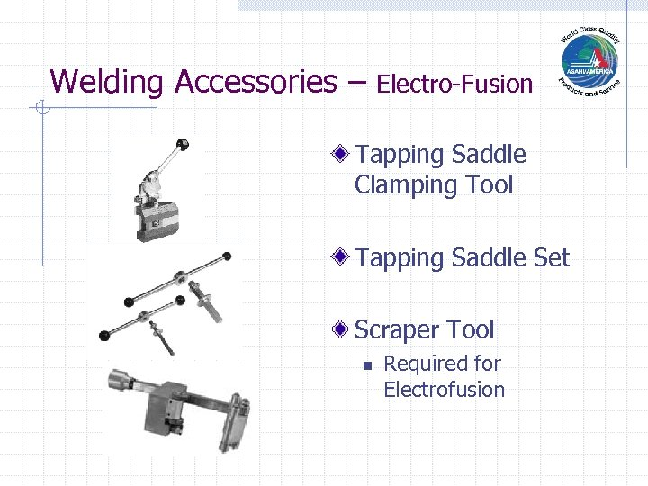 Welding Accessories – Electro-Fusion Tapping Saddle Clamping Tool Tapping Saddle Set Scraper Tool n
