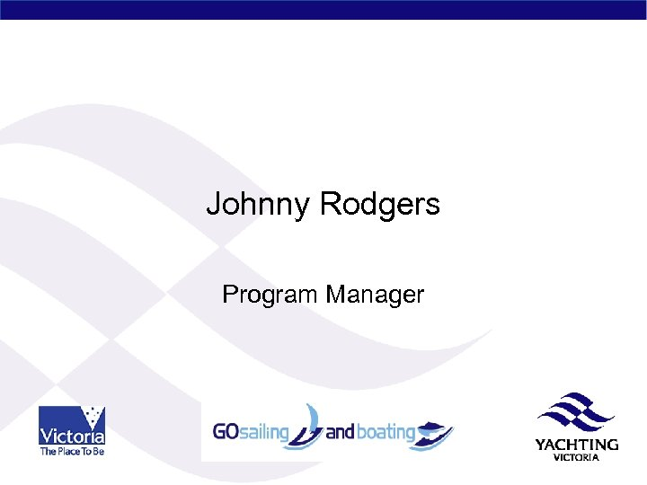 Johnny Rodgers Program Manager