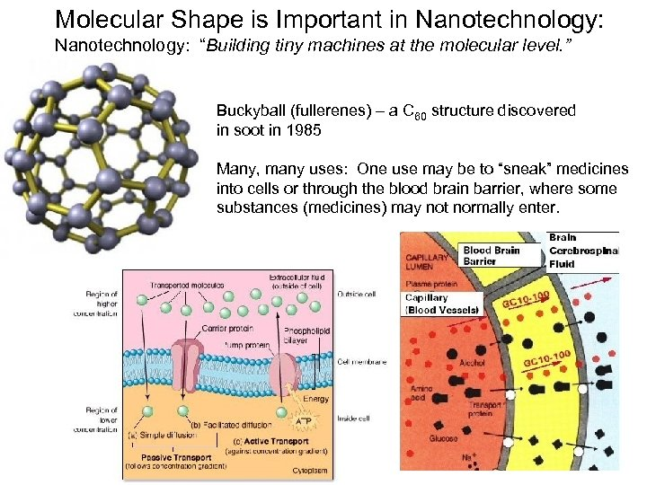 """Molecular Shape is Important in Nanotechnology: """"Building tiny machines at the molecular level. """""""