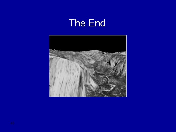 The End 46