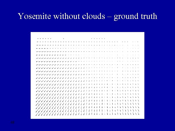 Yosemite without clouds – ground truth 48