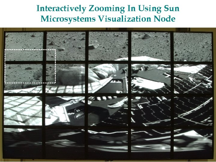 Interactively Zooming In Using Sun Microsystems Visualization Node