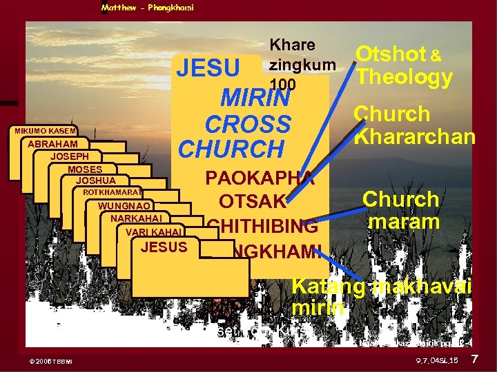 Matthew - Phongkhami Khare zingkum 100 MIKUMO KASEM ABRAHAM JOSEPH ABRAHAM JESU MIRIN CROSS