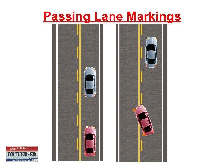 Passing Lane Markings
