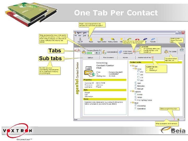 One Tab Per Contact 24