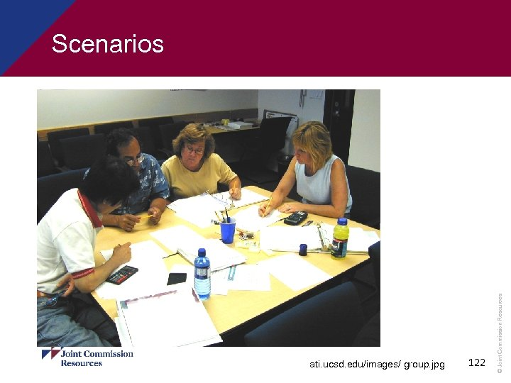 Scenarios ati. ucsd. edu/images/ group. jpg 122 © Joint Commission Resources §