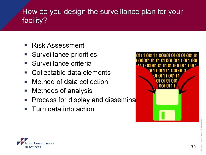 How do you design the surveillance plan for your facility? Risk Assessment Surveillance priorities
