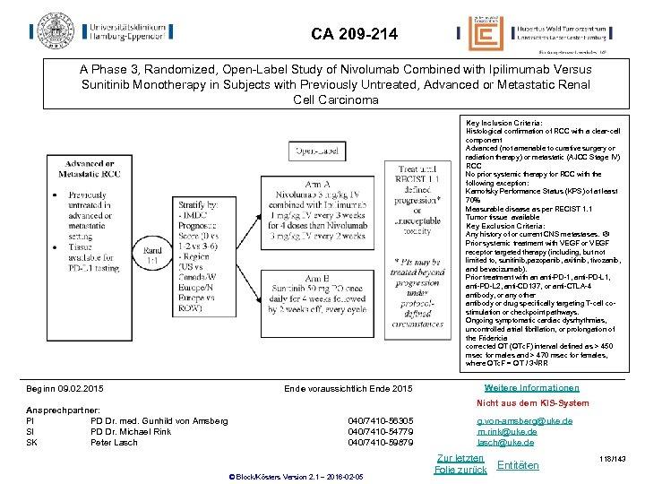 CA 209 -214 A Phase 3, Randomized, Open-Label Study of Nivolumab Combined with Ipilimumab