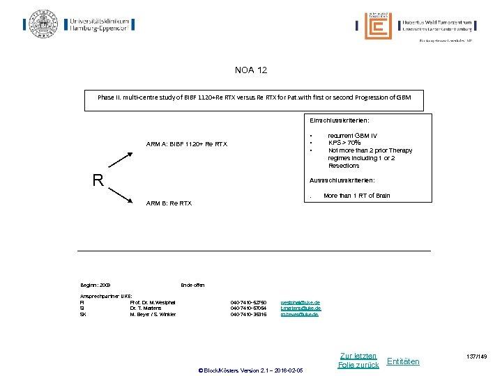 NOA 12 Phase II. multi-centre study of BIBF 1120+Re RTX versus Re RTX for