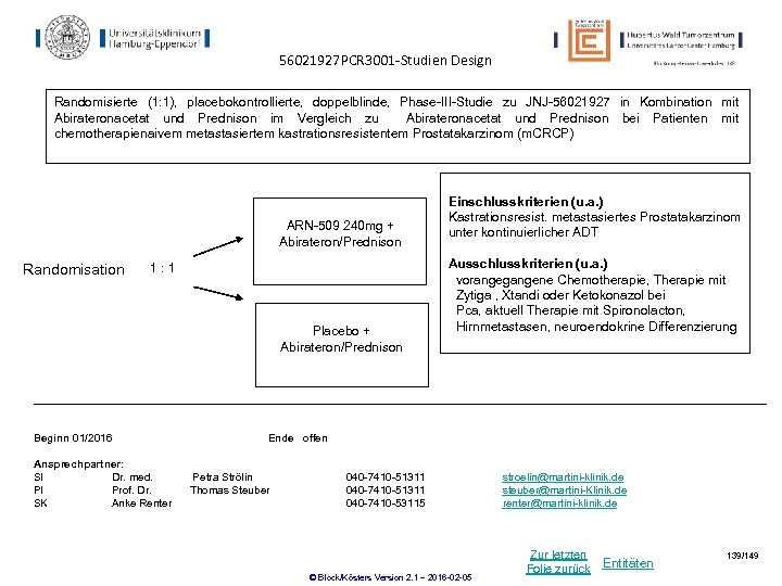 56021927 PCR 3001 -Studien Design Randomisierte (1: 1), placebokontrollierte, doppelblinde, Phase-III-Studie zu JNJ-56021927 in