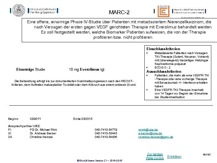 MARC-2 Eine offene, einarmige Phase IV-Studie über Patienten mit metastasiertem Nierenzellkarzinom, die nach Versagen