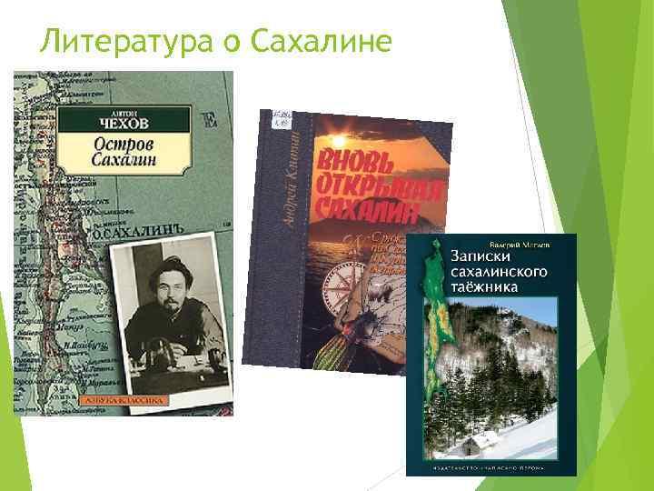 Литература о Сахалине