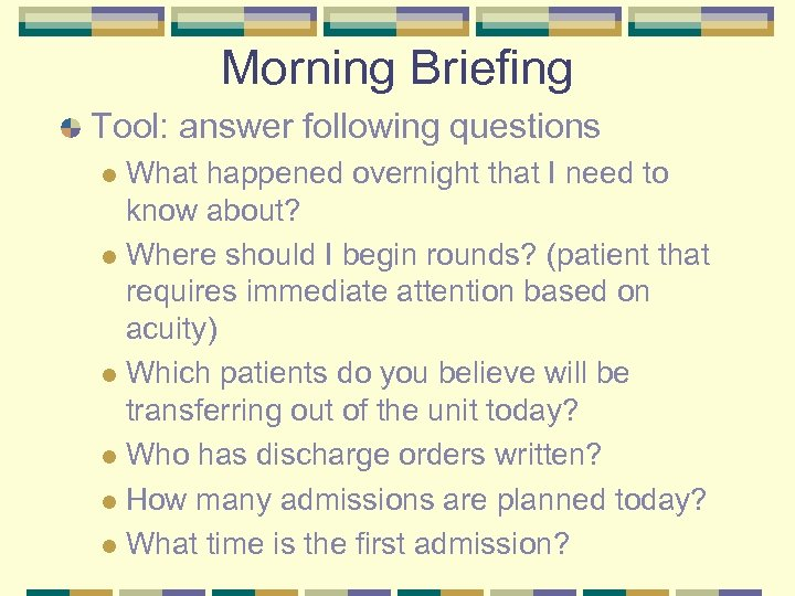 Morning Briefing Tool: answer following questions What happened overnight that I need to know