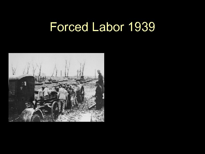 Forced Labor 1939