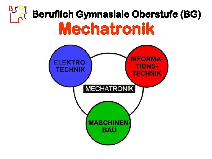 Beruflich Gymnasiale Oberstufe (BG) Mechatronik
