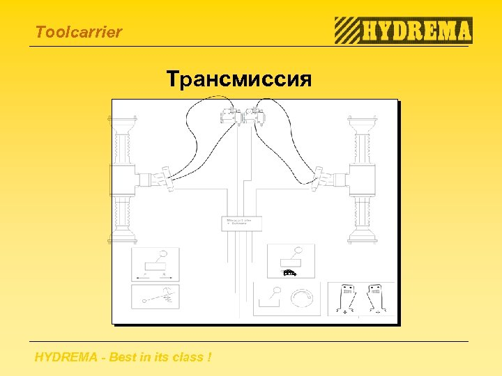 Toolcarrier Трансмиссия HYDREMA - Best in its class !