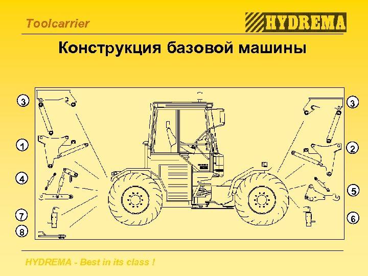 "Toolcarrier Конструкция базовой машины 3 3 P"" /HL eder h 1 ed 4 ga"