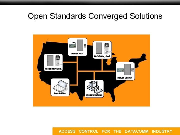 Open Standards Converged Solutions ACCESS CONTROL FOR THE DATACOMM INDUSTRY