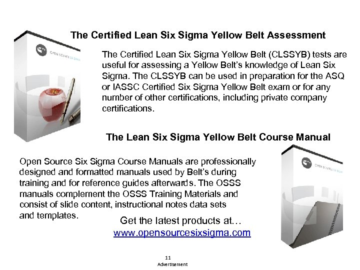 The Certified Lean Six Sigma Yellow Belt Assessment The Certified Lean Six Sigma Yellow