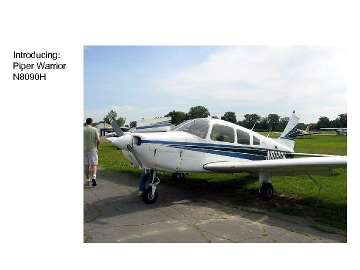 Introducing: Piper Warrior N 8090 H