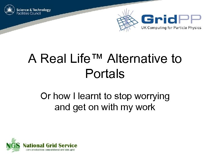A Real Life™ Alternative to Portals Or how I learnt to stop worrying and