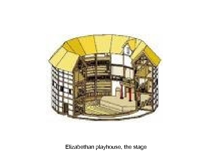 Elizabethan playhouse, the stage