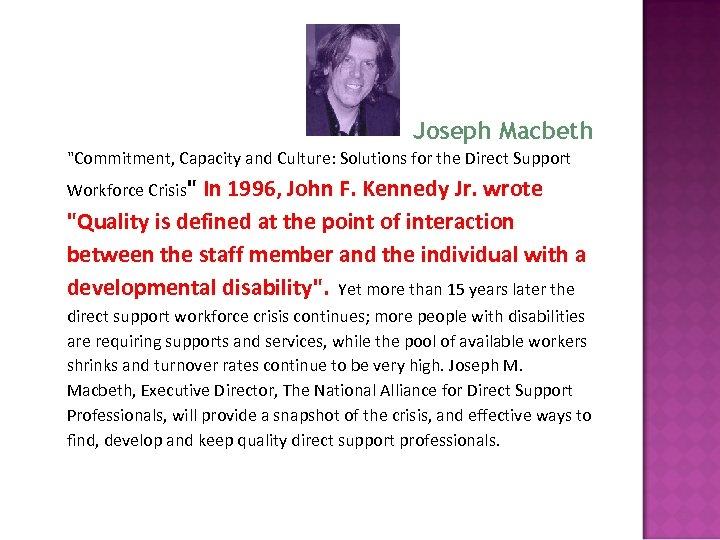 Joseph Macbeth