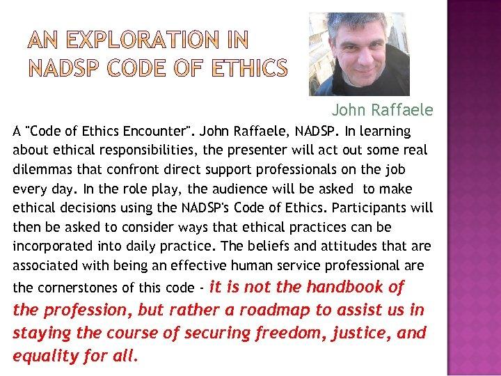 John Raffaele A