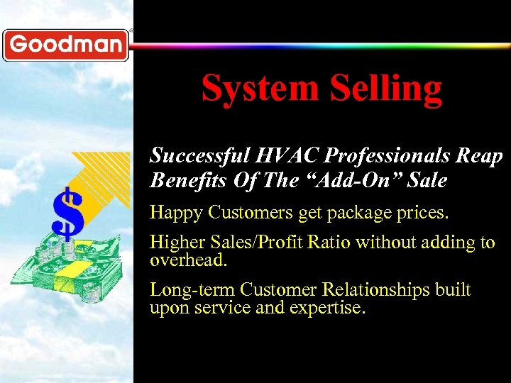 """System Selling Successful HVAC Professionals Reap Benefits Of The """"Add-On"""" Sale Happy Customers get"""