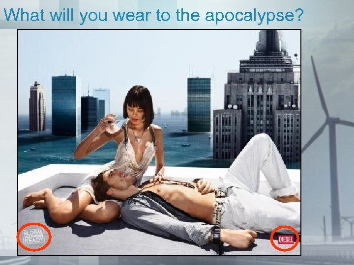 What will you wear to the apocalypse?