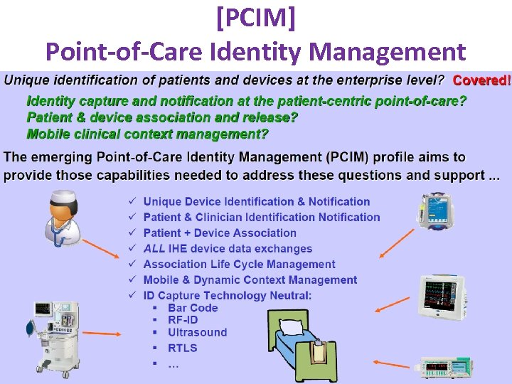 [PCIM] Point-of-Care Identity Management www. ihe. net