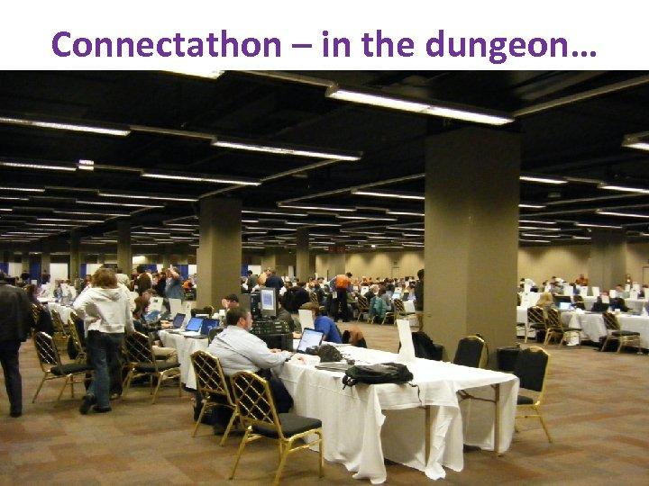 Connectathon – in the dungeon… www. ihe. net