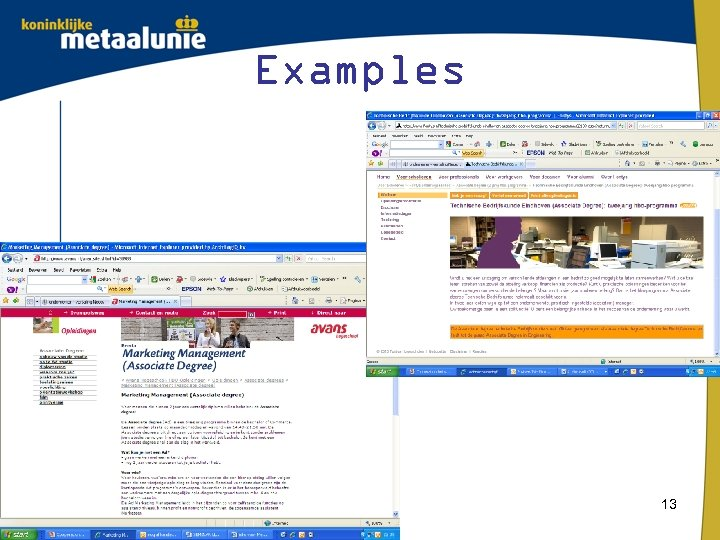 Examples 13